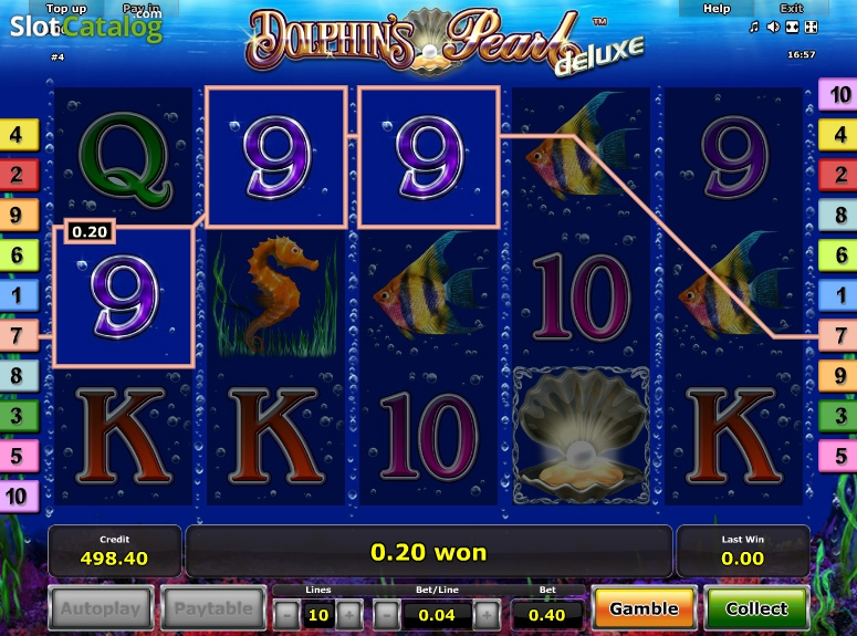 Dolphins Pearl Slot Free