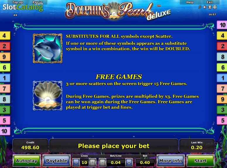 Dolphins Pearl Deluxe Slot Games