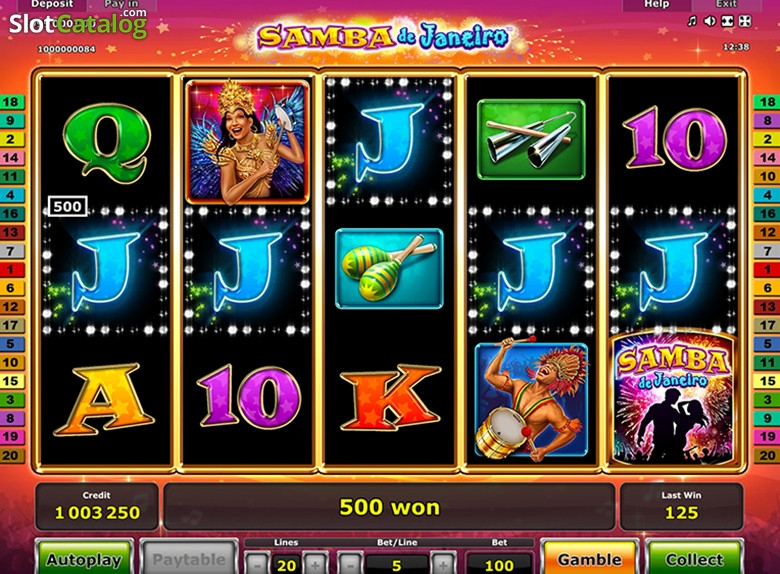 Samba de Janeiro Slot - Play Online Video Slots for Free