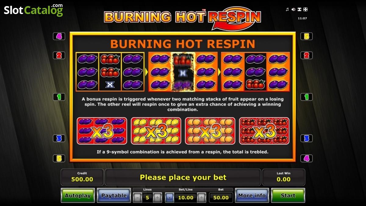 Respin Slot