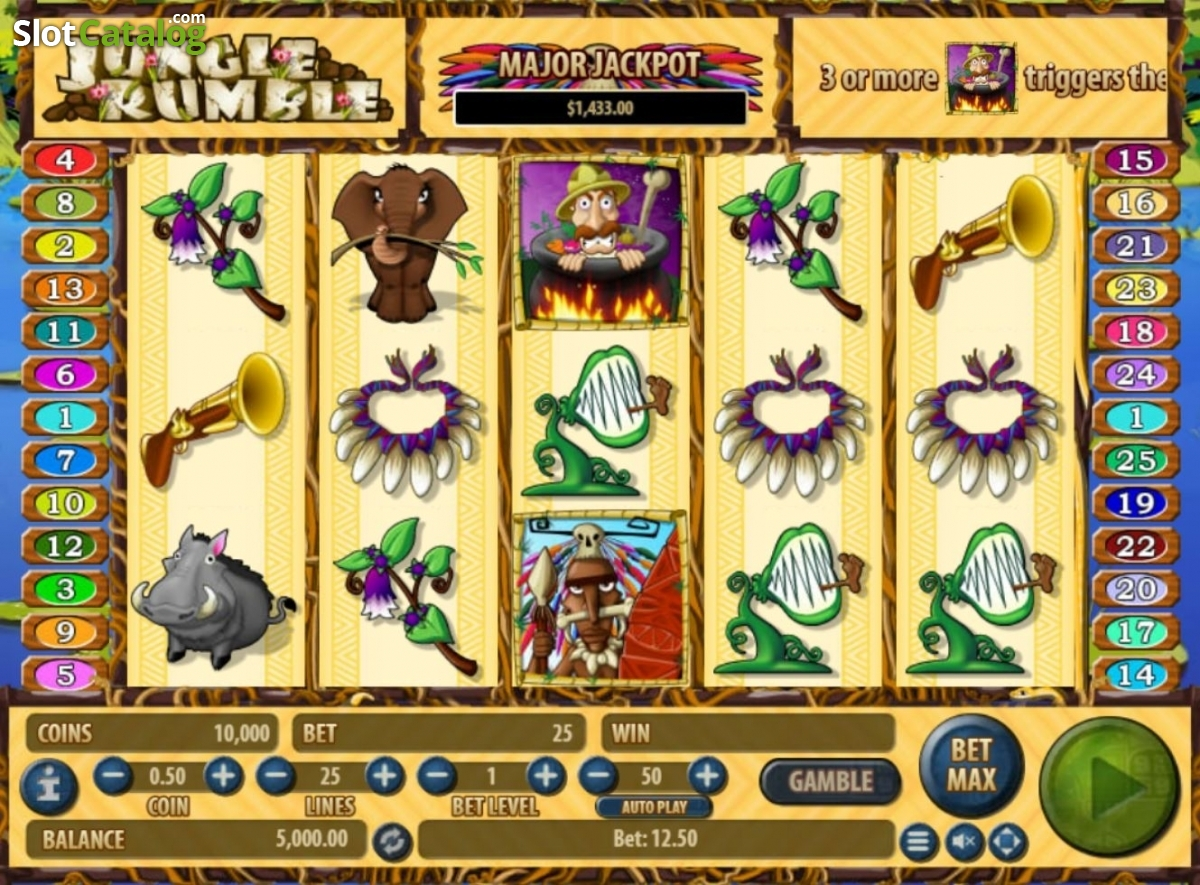 Spiele Jungle Rumble - Video Slots Online