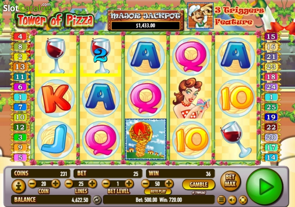 Spiele Tower Of Pizza - Video Slots Online