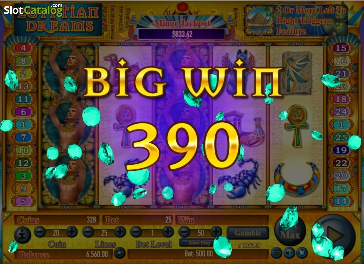 Review of Egyptian Dreams (Video Slot from Habanero ...