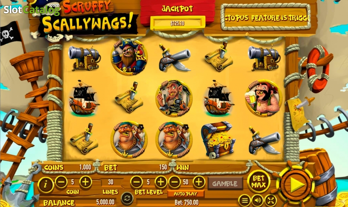 Scruffy ScallyWags Canadian Slot Review 2017
