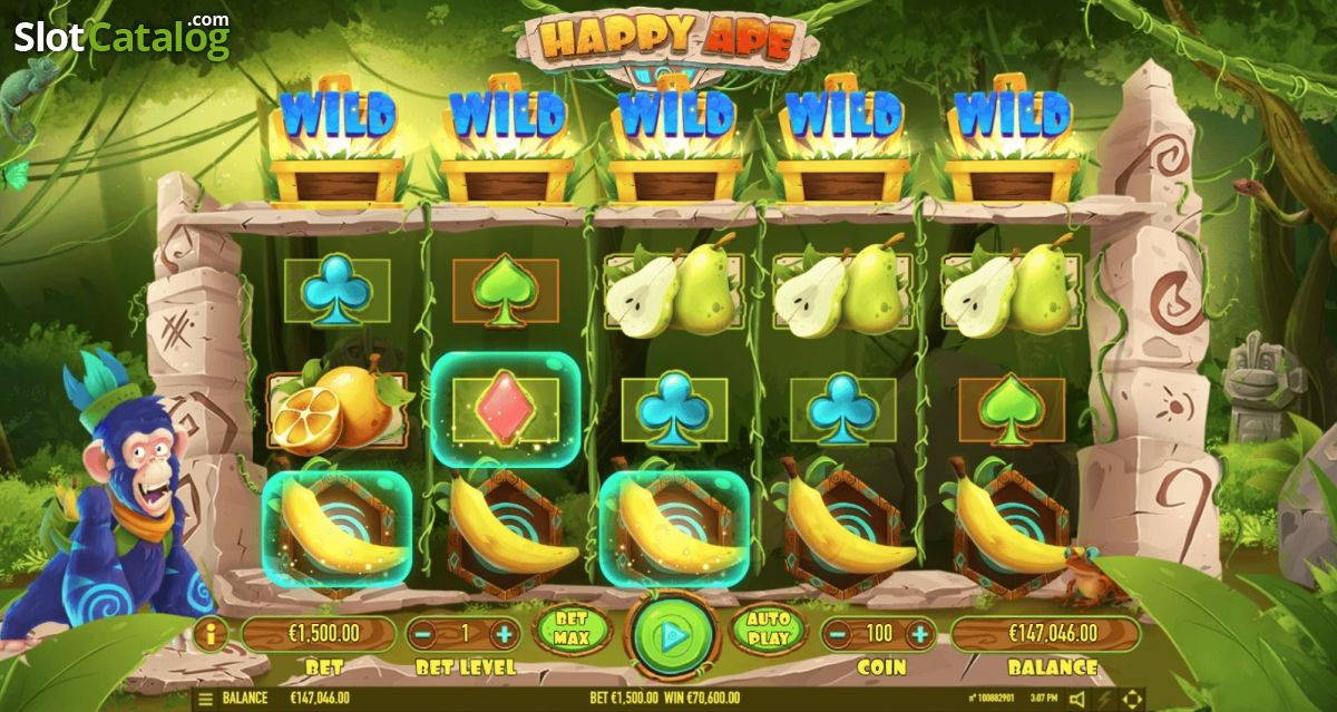 Happy Ape Slot ᐈ Review + Where to play
