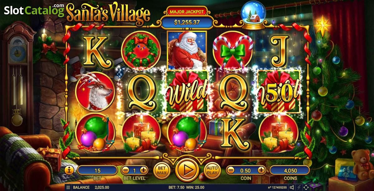 Spiele SantaS Village - Video Slots Online