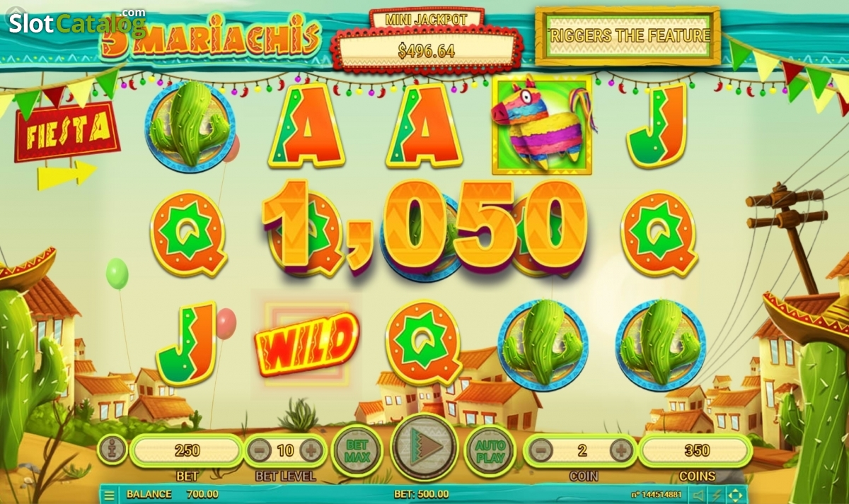 Spiele 5 Mariachis - Video Slots Online