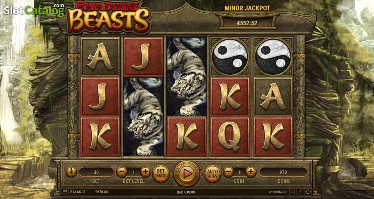 Four Divine Beasts Slot ᐈ Claim a bonus or play for free!
