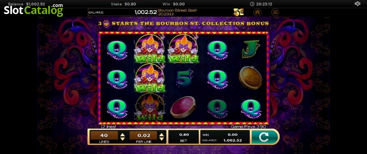 Spiele Bourbon Street Bash - Video Slots Online