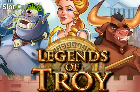 Legends Of Troy: Beastly Riches (Video Slot from High 5 Games)
