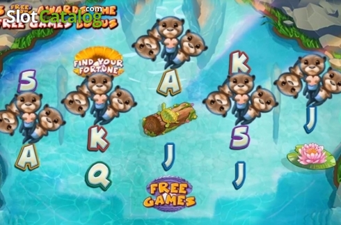 Reel Screen. Otterly Adorable (Video Slot from High 5 Games)