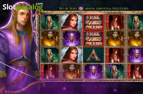 Reel Screen. Eternal Throne (Video Slot from High 5 Games)