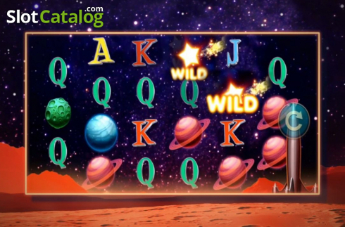 Reel Screen 2. Wild Planets (Video Slots from High 5 Games)