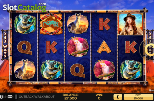 Spiele Outback Walkabout - Video Slots Online
