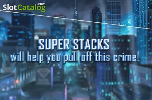 Super Stacks. Shadow Diamond Noir (Video Slot from High 5 Games)