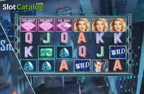 Bonus Game Triggered. Shadow Diamond Noir (Video Slot from High 5 Games)