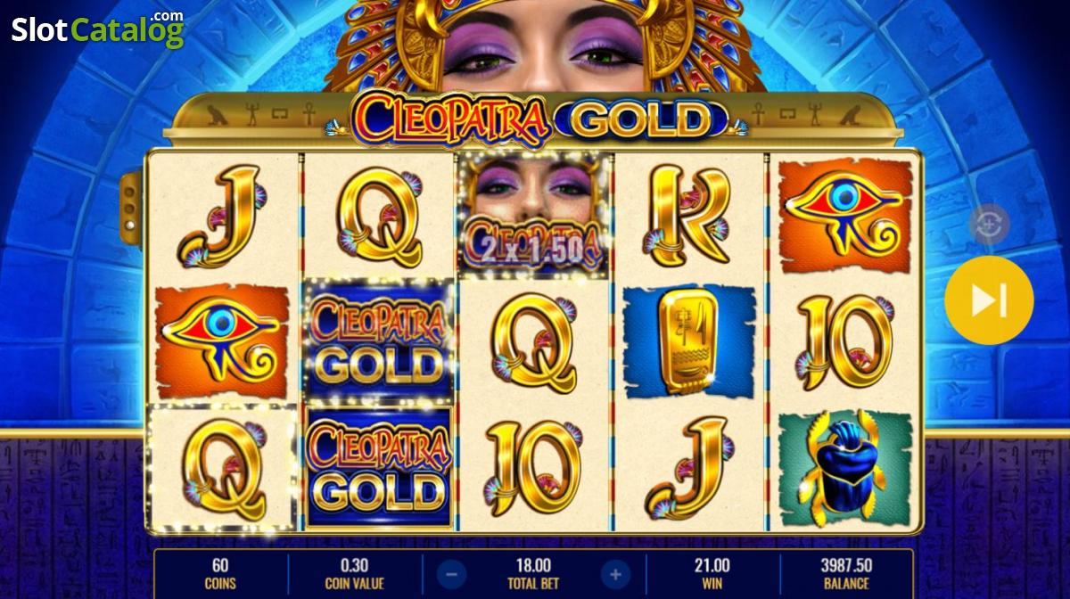 Spiele Cleopatra Gold - Video Slots Online