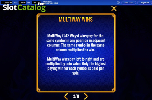 Ways. Fortune Coin (Video Slots from IGT)