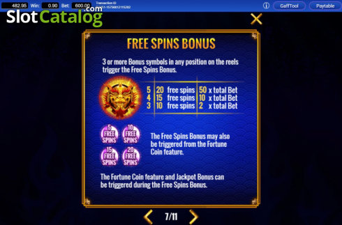 Features 5. Fortune Coin (Video Slots from IGT)