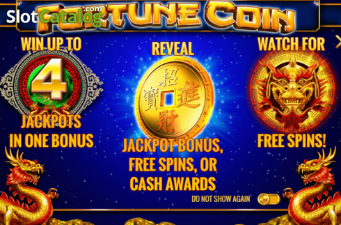 Start Screen. Fortune Coin (Video Slots from IGT)