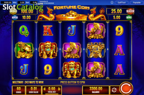 Reel Screen. Fortune Coin (Video Slots from IGT)