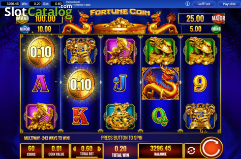 Win Screen 3. Fortune Coin (Video Slots from IGT)