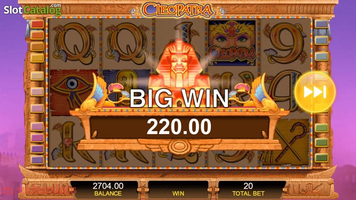 Play Free Slots Cleopatra