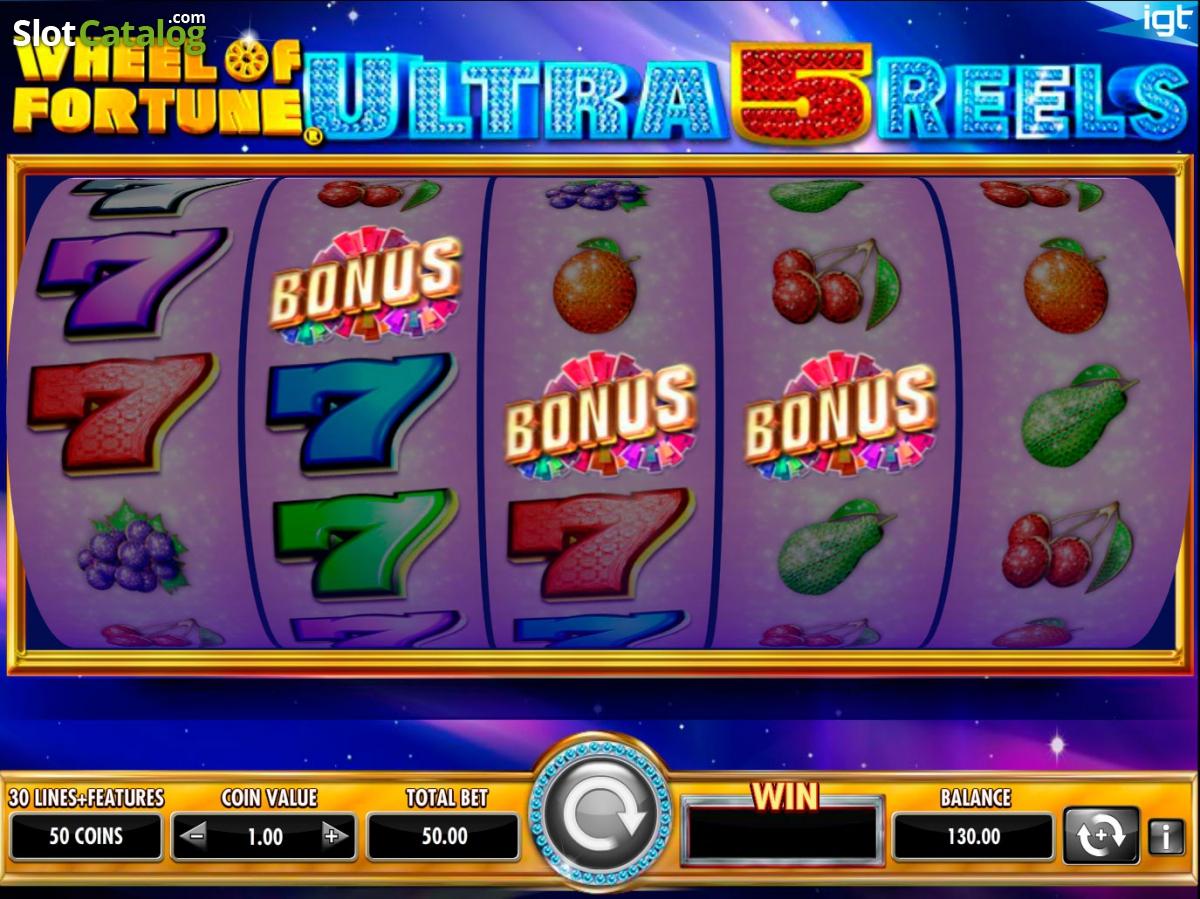 Free 5 Reel Slots With Bonus