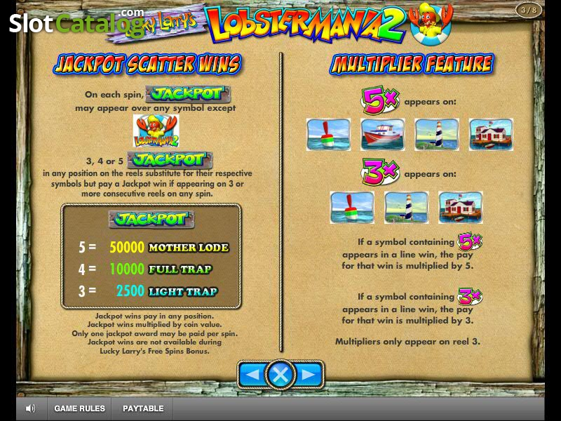 Review of Lucky Larry`s Lobstermania 2 (Video Slot from IGT) - SlotCatalog