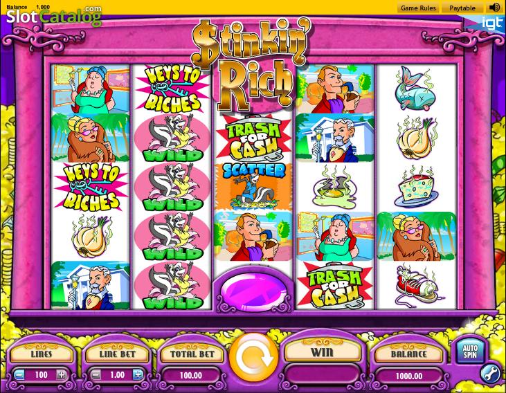 Free stinkin rich casino games paris casino la creperie