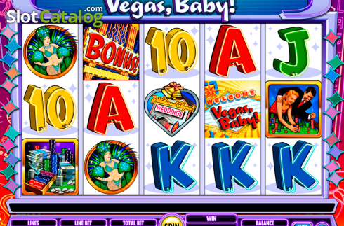 Reels. Vegas, Baby! (Video Slot van IGT)