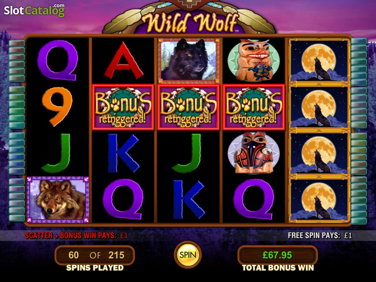 Free Wolf Slots Games