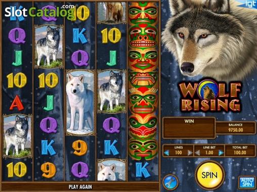Spiele Wolf Rising - Video Slots Online