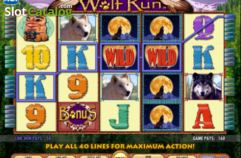 Reels. Wolf Run (Video Slot from IGT)