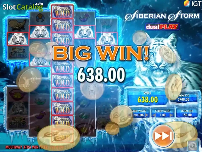 Play Siberian Storm Dual Play slot at Casumo