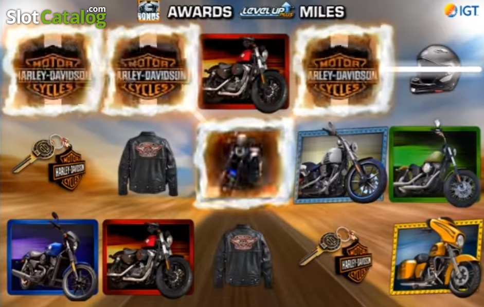 Harley Davidson Freedom Tour Slot - Play IGT Slots for Free