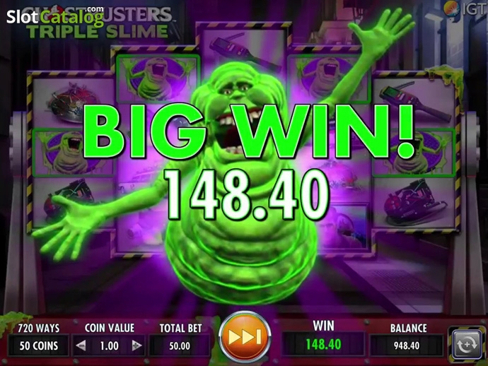 Ghostbusters Triple Slime Slot Review, Bonus Codes & where to play from  United Kingdom