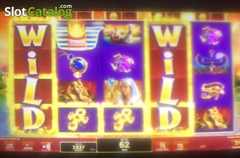 Obrazovka3. Golden Egypt (Video Slot z IGT)