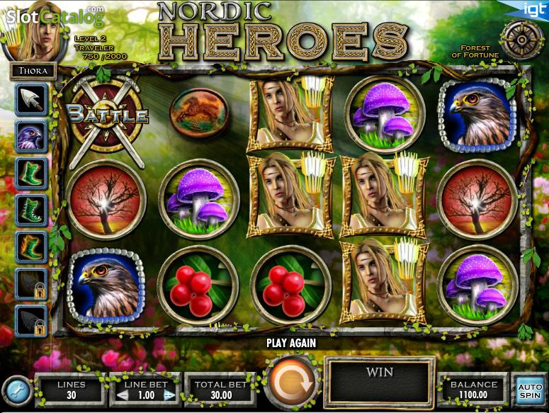 Spiele Nordic Heroes - Video Slots Online