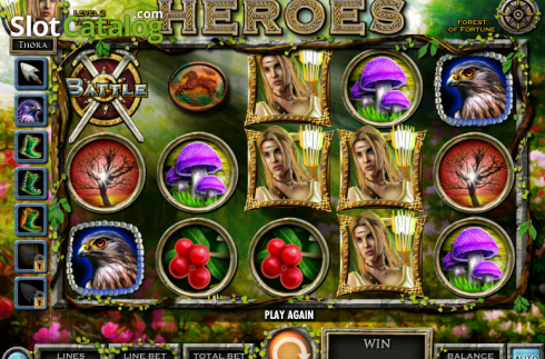 Symbol collection. Nordic Heroes (Video Slot from IGT)