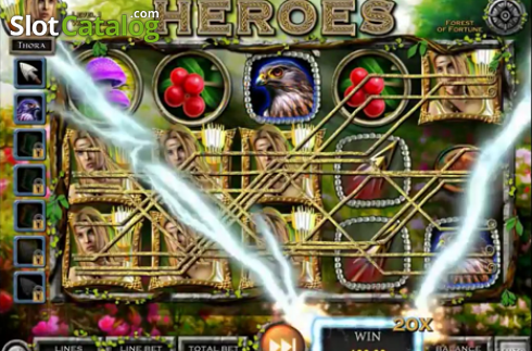 Multiplier. Nordic Heroes (Video Slot from IGT)