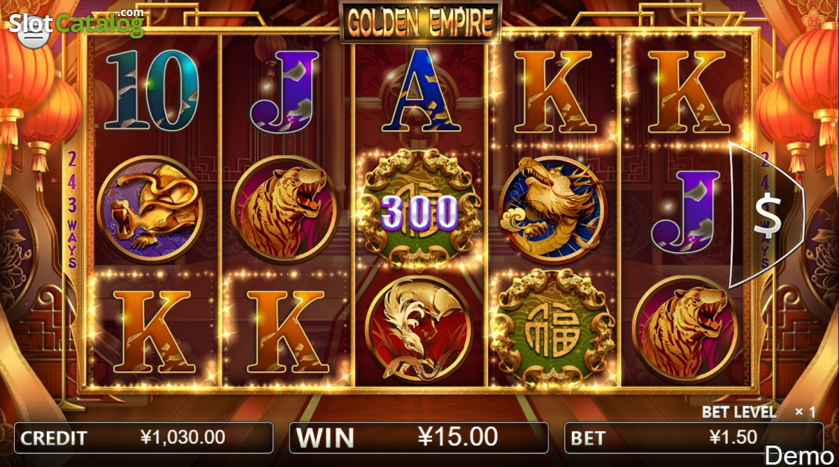 Golden Empire Online Slot Review & Free Demo Play ✔️