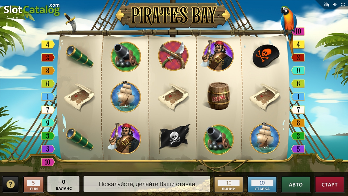Pirates Bay Slot Review, Bonus Codes & where to play from United Kingdom