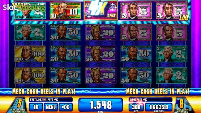 Money Roll Jackpot Slot Machine