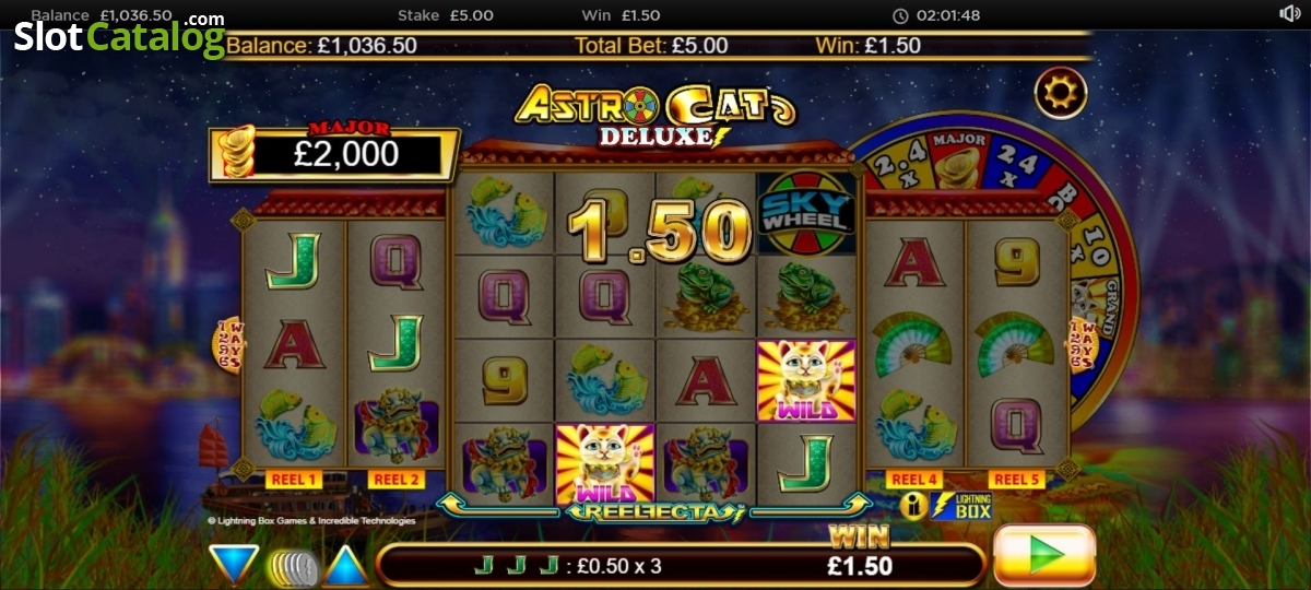 Spiele Astro Cat Deluxe - Video Slots Online