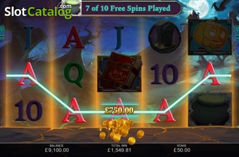 Free Spins 4. Book of Halloween (Video Slots from Inspired Gaming)
