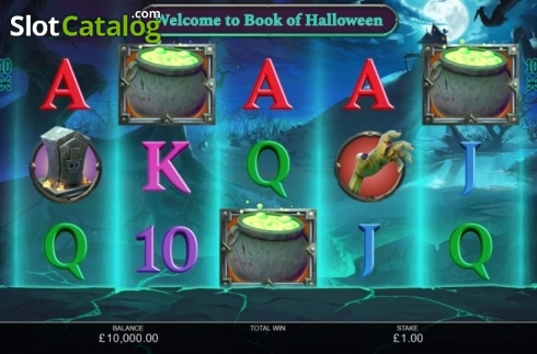 Reel Screen. Book of Halloween (Video Slots from Inspired Gaming)