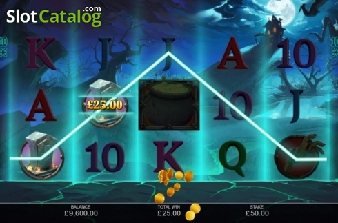 Win Screen 2. Book of Halloween (Video Slots from Inspired Gaming)