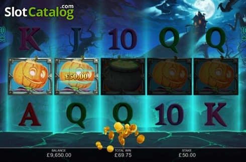 Win Screen 3. Book of Halloween (Video Slots from Inspired Gaming)