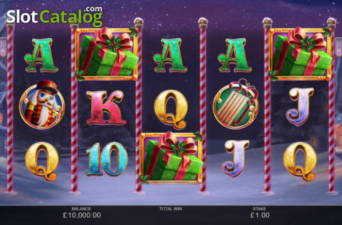 Reel Screen. Book of Christmas (Video Slot from Inspired Gaming)
